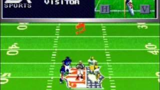 Madden NFL '98 - SNES Gameplay