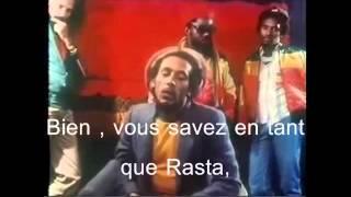 Bob Marley Interview à Zurich , Suisse 1980 Sous Titres
