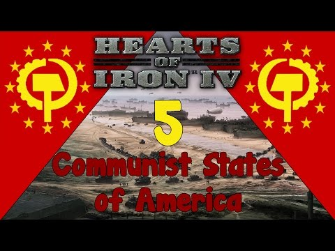 Hearts of Iron IV - Communist States of America 5