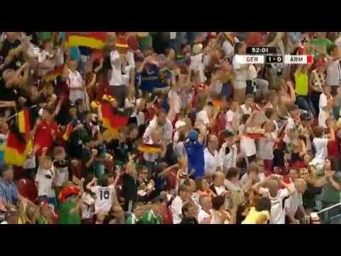 Germany - Armenia 6 : 1 All Goals ( ZDF TV HD  )  06/06/2014