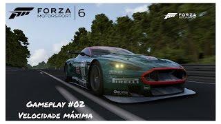 Forza Motorsport 6 - Velocidade Máxima - Aston Martin #007 Racing DBR9 2006 - Gameplay #02