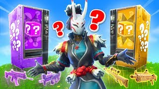 *NEU* LUCKY BLOCKS AUTOMATEN Duell in FORTNITE!