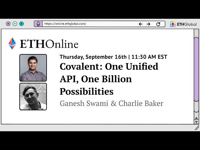 Covalent: One Unified API, One Billion Possibilities