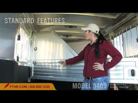 Economical Aluminum Horse Trailer - The Featherlite Model 9409 Tour