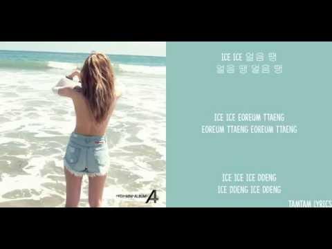 BLOCKED!!! LINK DOWN BELOW ↓↓↓↓↓ Ice Ice - Hyuna X Yuk Jidam Lyrics [Han,Rom,Eng]