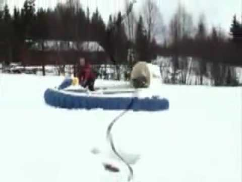 Hov Pod on nordic snow