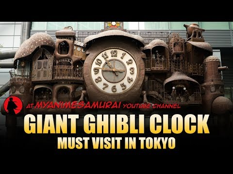 "Ghibli Giant  Clock ""Ni-Tele Really Big Clock"""
