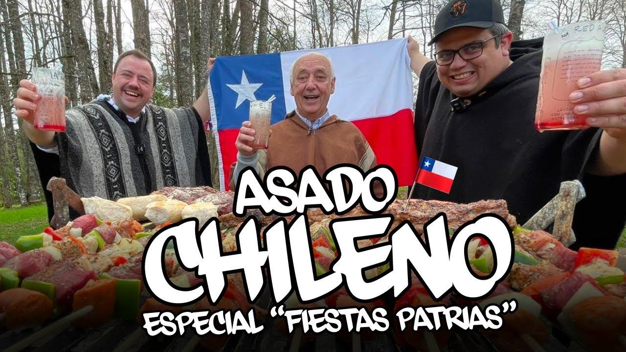 Asado Tradicional Chileno 🇨🇱
