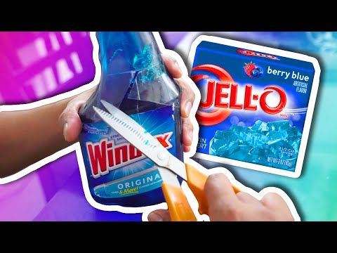 Thumbnail: DIY How To Make Jelly Windex! Jello Glass Cleaner! | Super Fun & Easy Fail!