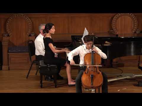 Audrey Vardanega: Franz Schubert  - Arpeggione Sonata for Cello and Piano, D. 821
