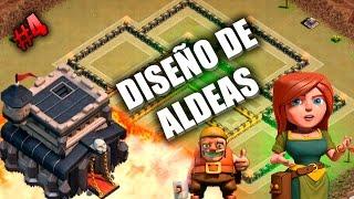 Aldea Guerra Ayuntamiento 9 TH9 Anti 3 estrellas - Diseño de Aldeas #4 - Clash of Clans