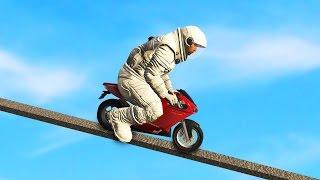 INSANE MINI MOTORCYCLE CHALLENGE (GTA 5 FUNNY MOMENTS) | JoblessGarrett