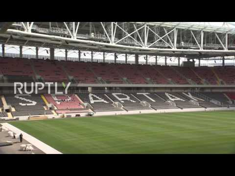 Russia: Otkrytiye Arena, soon to be Spartak Stadium, ready to host World Cup