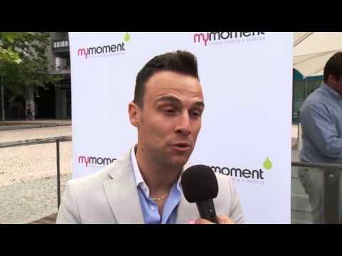 Entrevista a Nelson Rosado no aniversário da MyMoment