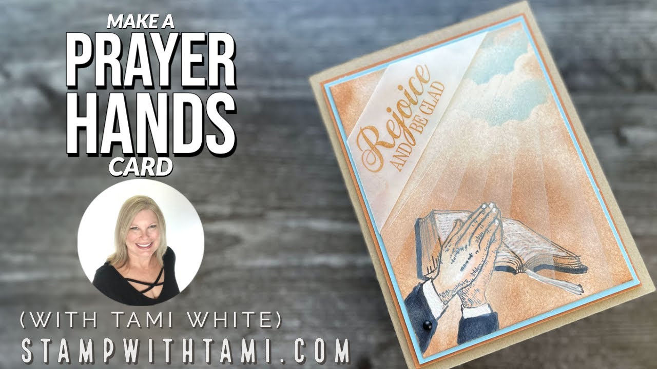 🔴 How to make a prayer hands card for Easter