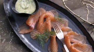 Рыба по скандинавски(Слабосоленая рыба в домашних условиях рецепт на 8 порций: 2 куска очень свежей семги, лосося или горбуши..., 2015-05-25T18:31:41.000Z)