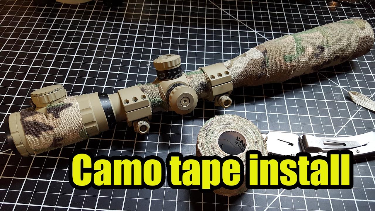 Mcnett Camo tape - YouTube ecb08f49f