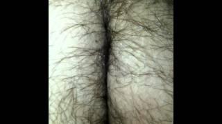 Hairy ass