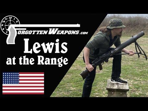 .303 Lewis Gun at the Range