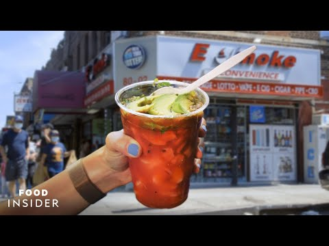 Seafood Counter Hidden In A Bodega Serves Fresh Cups Of Shrimp And Octopus
