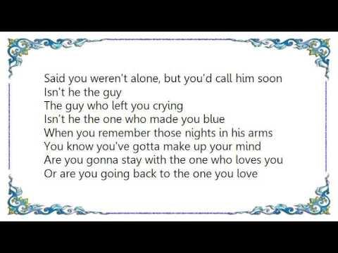 Glenn Frey The One You Love Lyrics Youtube