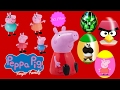 Peppa Pig  Kung Fu Panda  Hulk  Angry Birds Finger Family Collection   Surprise Eggs   Toys   KRB