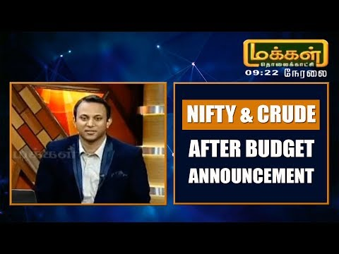 Nifty & Crude Oil After Budget Announcement