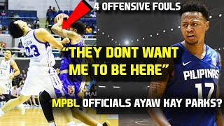 Ray Parks Jr. first game in MPBL | Officials ayaw kay Parks?