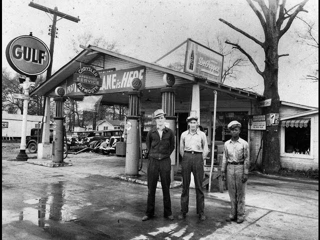 COMPILATION OF OLD VINTAGE GAS STATIONS.....WOW!....SO COOL!