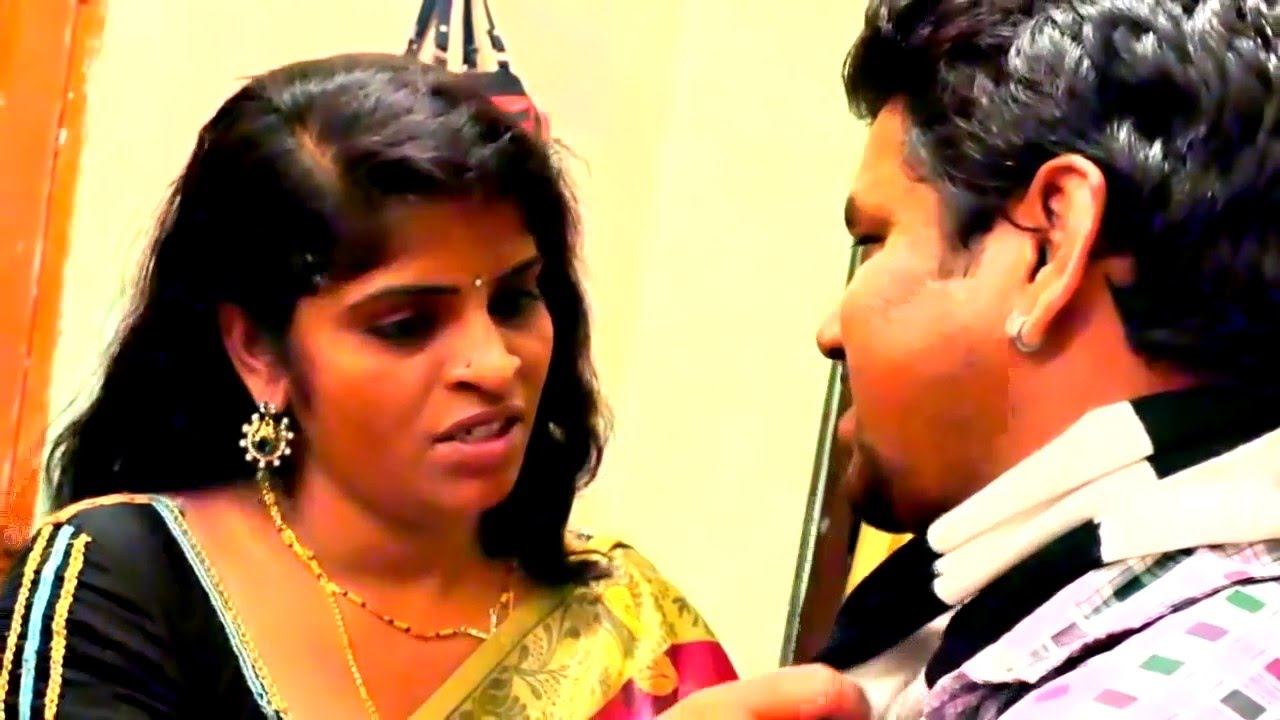 Hot Tamil Short Film  Sleeping Indian Aunty Romance With -7672