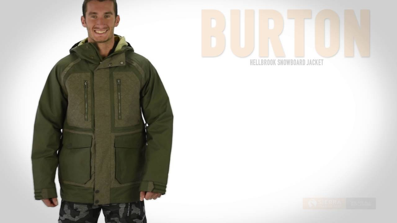 Burton mb hellbrook men's snowboard jacket
