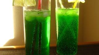 """Коктейль """"Зелёный джин"""". Безалкогольный коктейль"""