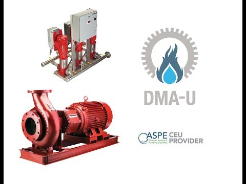 DMAU - Commercial Booster Pump Design Class 9.12.17