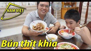 Bún thịt khìa (Món ăn miền quê) Nam Việt 1610