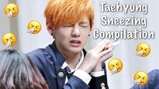 Taehyung Sneezing Compilation