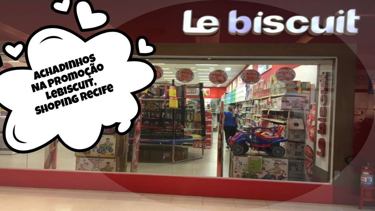 55ff624f4594 Achadinhos de promoção na Le Biscuit - Shopping Recife - YouTube