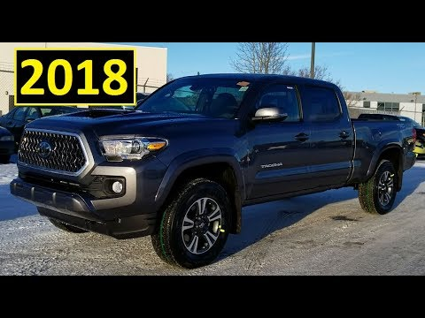 2018 Toyota Tacoma Double Cab Trd Sport Upgrade Or Premium
