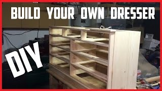 Build Your Own Dresser | Diy Instructions