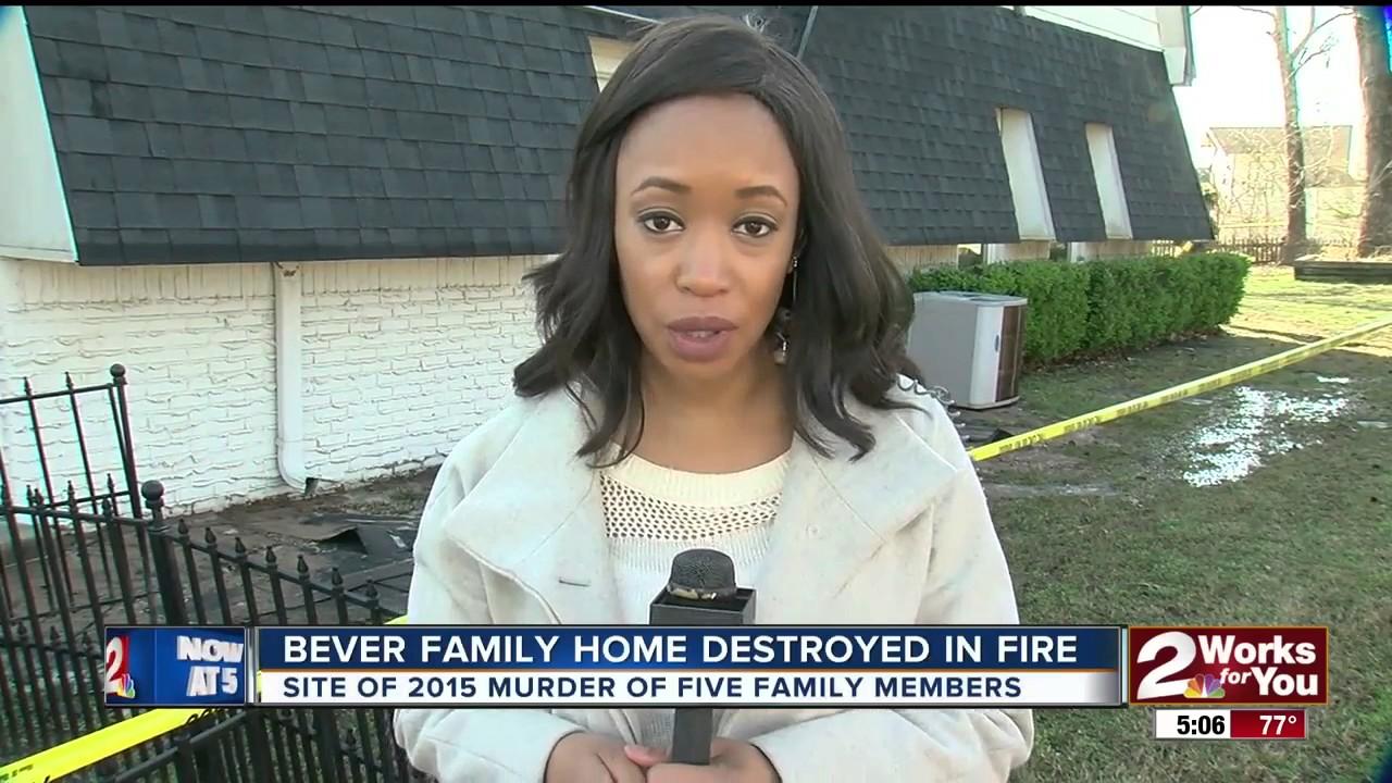 Bever family home in Broken Arrow destroyed in fire
