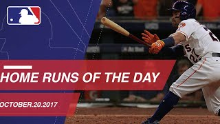 Check out all the homers from ALCS Game 6: 10/20/17