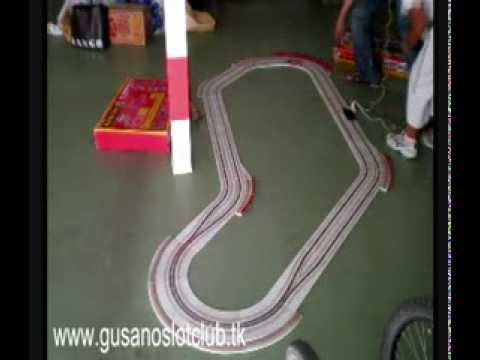 Slot - Toyota GT-One de Scaleauto vs. Audi R8c de Slot.it