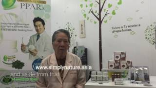 SimplyNature PPARS treat Dr. Engie Domondon's Diabetes patients