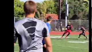 Gage Pucci QB at San Jose State University Camp