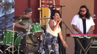Rebecca Arscott & One Heart Fyah @ New Mexico State Fair Indian Village 2016 Clip 2