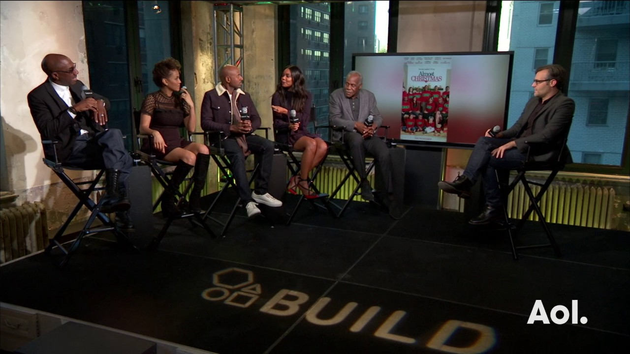 Cast From Almost Christmas.The Cast Of Almost Christmas Discuss The Film Build Series