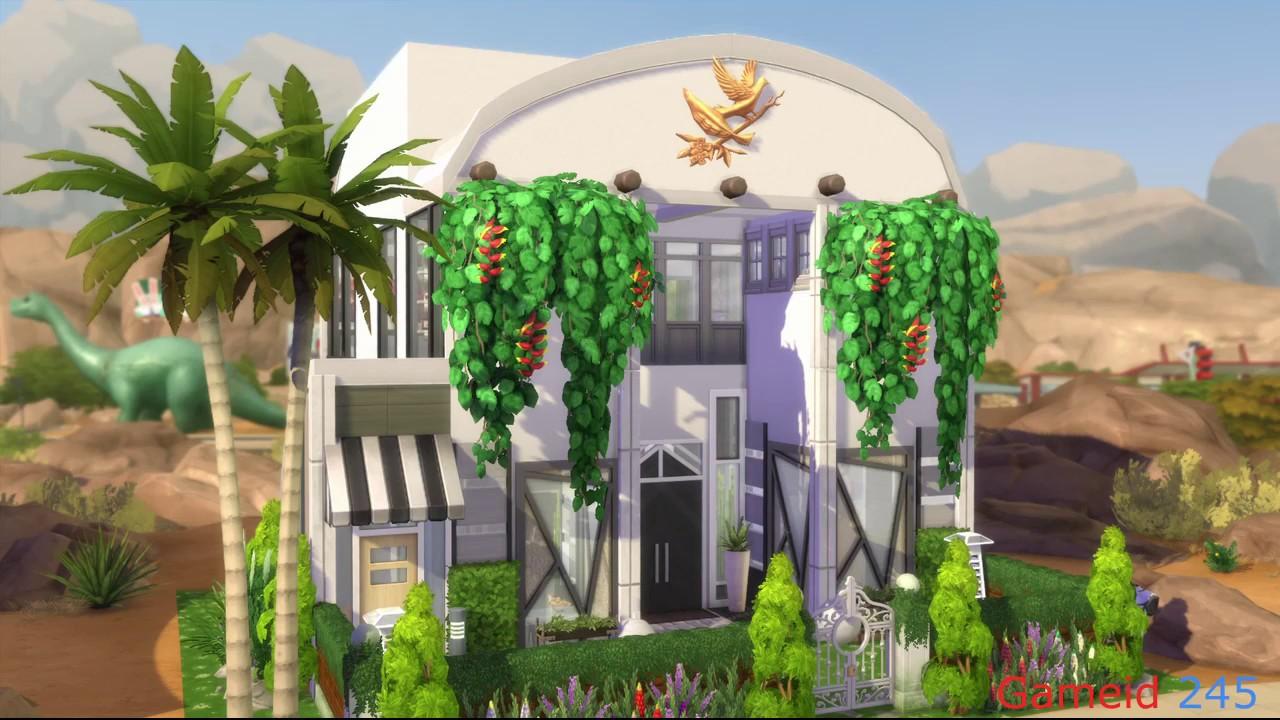 The Sims 4 - Beutiful house on smallest lot |NO CC- Xây nhà trên Lot nhỏ nhất Sim4 #1