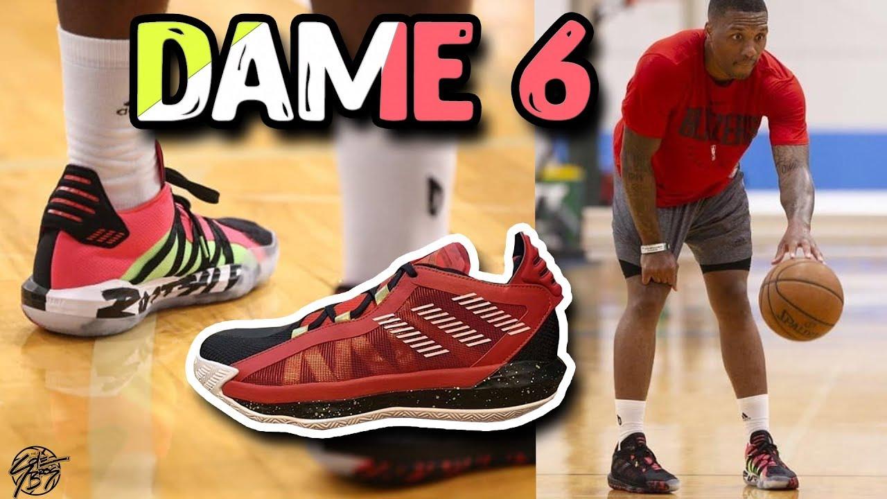 Damian Lillard Unveils The Adidas Dame 6 Youtube