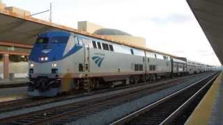 "Amtrak ""Southwest Chief"" depart Los Angeles Union Station"