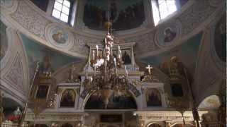видео Храм Живоначальной Троицы на Воробьёвых горах -