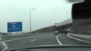 Leidsche Rijn tunnel - A2 afslag Papendorp Utrecht (Panasonic SD90 - Gaia Valensia)